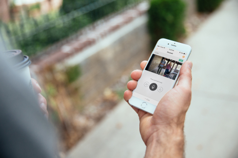 Airbnb hosts can greet and verify guests remotely using the Vivint Doorbell Camera  (Photo: Business Wire)