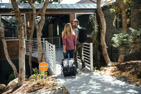 Vivint smart home technology provides convenience and security for hosts and guests  (Photo: Business Wire)