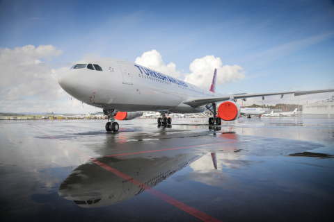 The first THY A330 delivered on December 22nd (Photo: Business Wire)