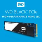 WD Black PCIe High-performance NVMe SSDs (Graphic: Business Wire)