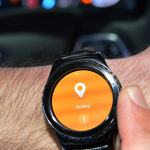 With the new Gear Auto Link app, Samsung Gear S2 and S3 smartwatch owners soon will be able to integrate with Ford SYNC®-equipped vehicles for convenient parking reminders and alerts to help them stay attentive while driving. (Photo: Business Wire)