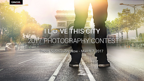 "CyberLink Launches ""2017 I Love This City"" Photography Contest (Photo: Business Wire)"