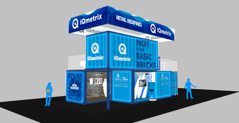 iQmetrix's unique booth at NRF will be transformed into a retail store constructed of two stacked shipping containers. (Photo: Business Wire)