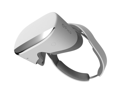 Pico Neo CV, a completely untethered Virtual Reality experience, revealed at CES 2017 (Photo: Business Wire)