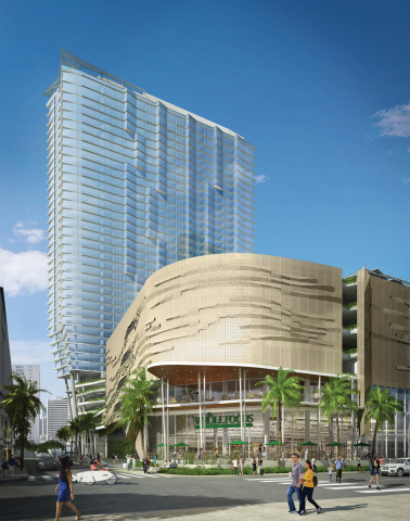 Ae'o Tower in Ward Village with Whole Foods Market (Photo: Business Wire)
