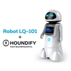 SoundHound Inc. and Shenzhen Tanscorp Technology Co. Unveil Robot LQ-101, an Intelligent Family Service Robot Powered by Houndify Voice and A.I. Technology (Photo: Business Wire)