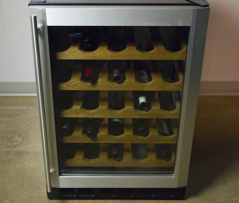 GE Appliances' FirstBuild™ Announce Simblee Connected Smart Wine Chiller. (Photo: Business Wire)