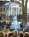 Hundreds of fans gathered at Elvis Presley's Graceland in Memphis to celebrate his birthday with the largest birthday cake ever at Graceland. (Photo: Business Wire)