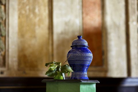 Ceramic Mudahal Urn from the CRAFT: Morocco Collection at Cost Plus World Market (Photo: Business Wire)