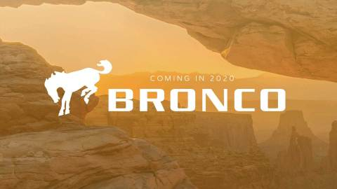 The rugged all-new Ford Bronco midsize SUV returns in 2020 as a global vehicle. (Graphic: Business Wire)
