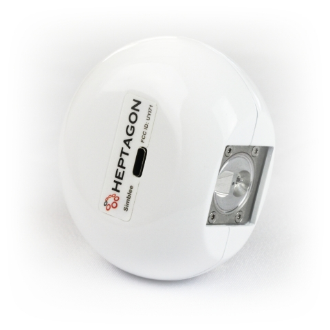 Heptagon's Simblee Connected Handheld Spectrometer (Photo: Business Wire)