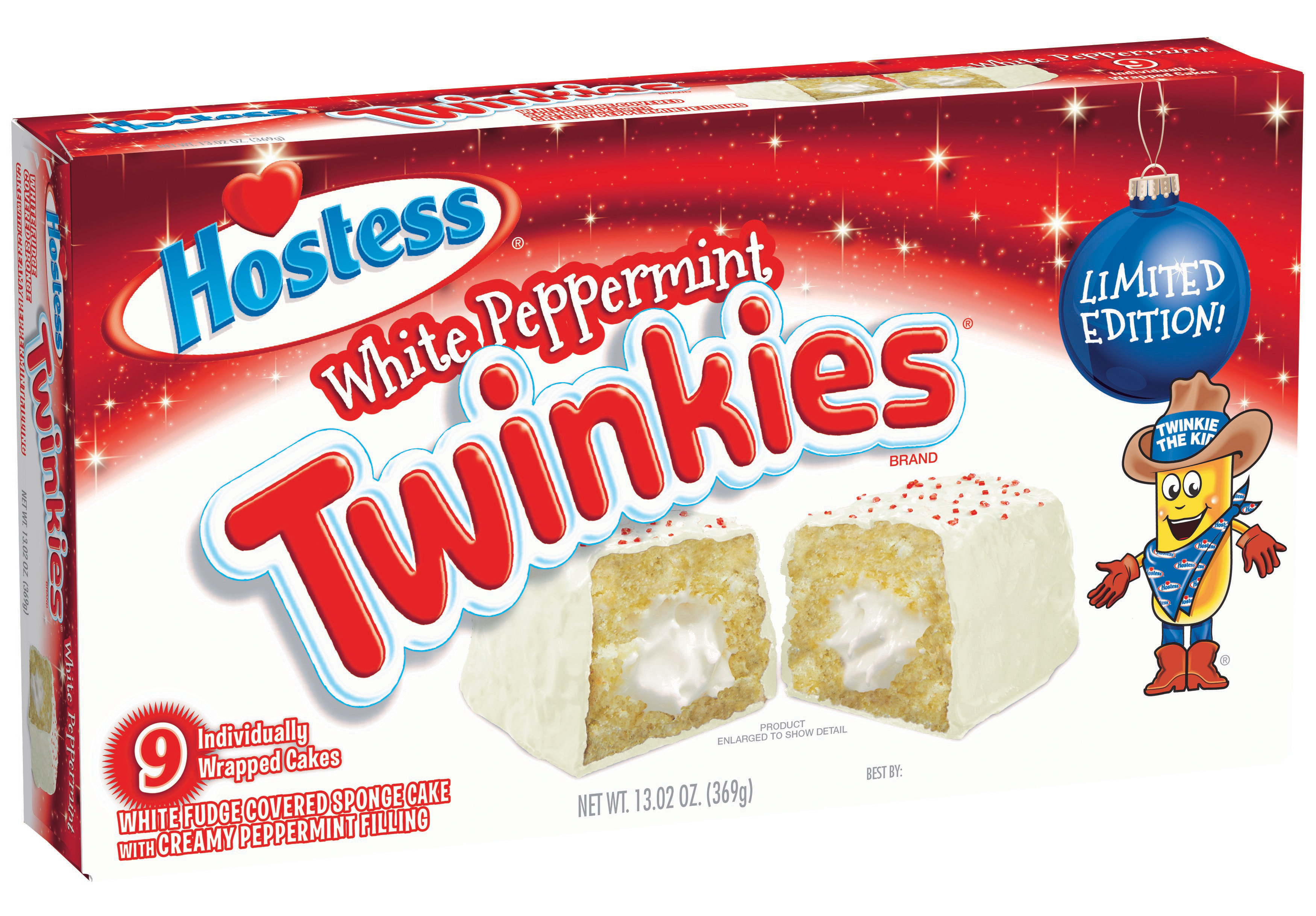 Hostess Brands, LLC Issues Voluntary Recall of Limited-Edition Holiday White Peppermint Hostess® Twinkies® Because of Possible Health Risk (Photo: Business Wire)