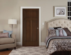 The new Woodview collection from JELD-WEN features prefinished interior doors that look like real wood. (Photo: Business Wire)