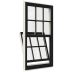 JELD-WEN® Premium™ vinyl tilt single-hung and double-hung windows blend contemporary style with modern functionality (Photo: Business Wire)
