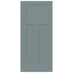 JELD-WEN® Craftsman Collection exterior steel doors blend modern style with affordability and security. (Photo: Business Wire)