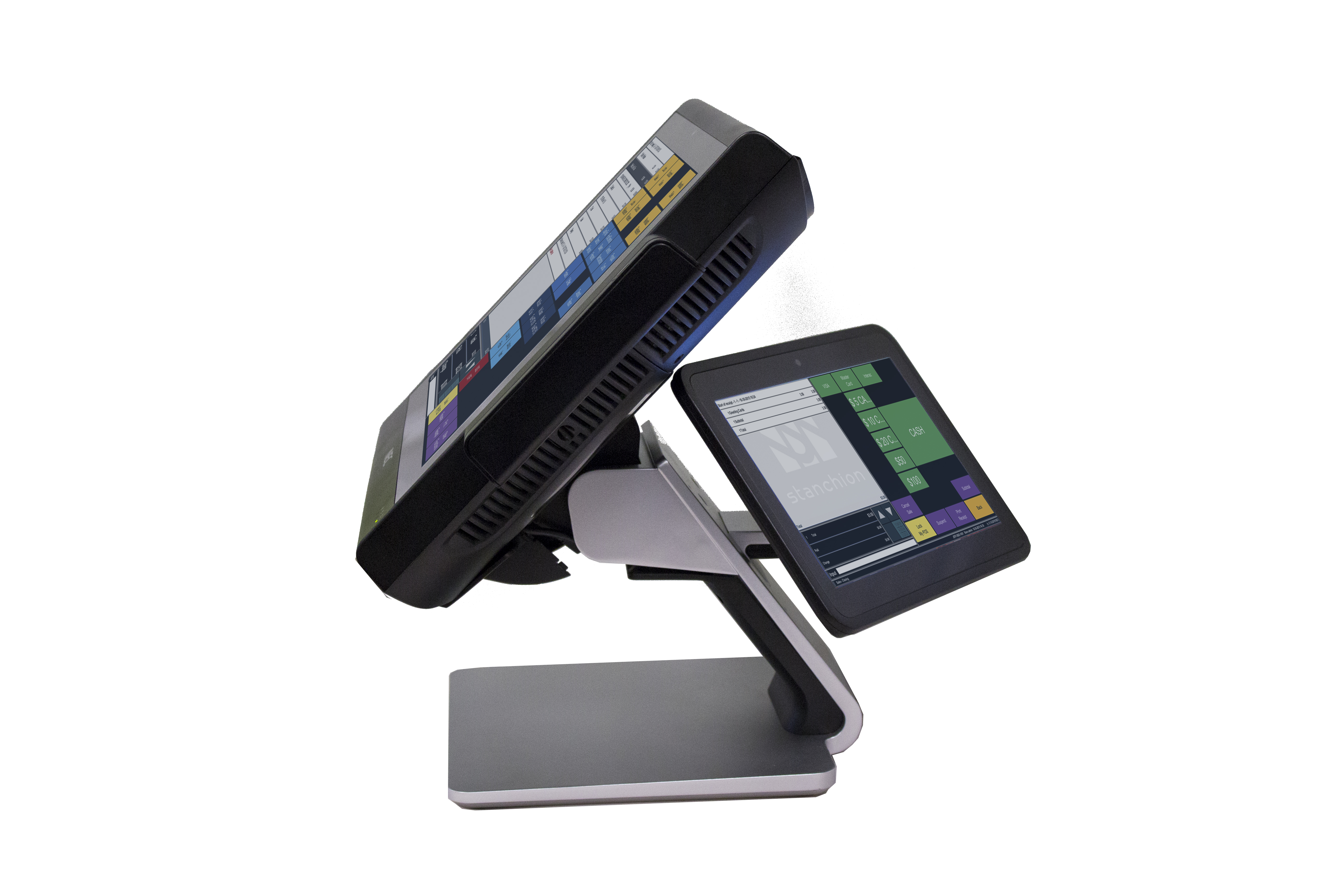 Side view of NECs new POS TWINPOS 5100 (Photo: Business Wire)
