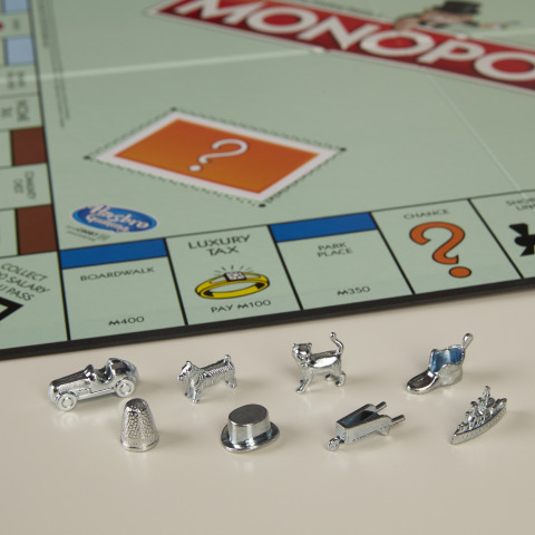 Will MONOPOLY fans vote to keep these current eight tokens in the MONOPOLY game, or will new tokens take their place? The Monopoly Token Madness Vote starts today through January 31. (Photo: Business Wire)
