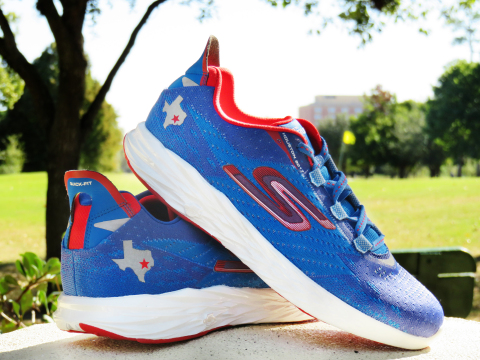 The limited edition Skechers Performance GOrun 5™ - Houston 2017 footwear.  (Photo  c22a664140a