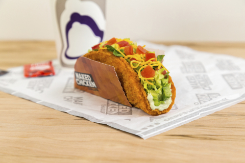 Taco Bell is coming un-shelled with its latest food innovation, coming in the form of the first taco shell made entirely of marinated, all-white crispy chicken. (Photo: Business Wire)