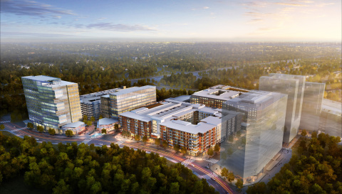 Merriweather District Aerial (Photo: Business Wire)