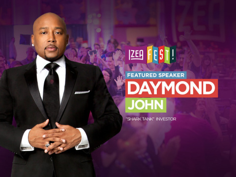 Shark Daymond John to Speak at IZEAFest 2017. (Photo: Business Wire)