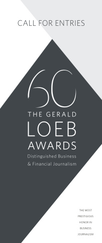 Celebrating 60 years of awarding the best in business journalism, The Gerald Loeb Awards open the 20 ...