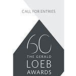 Celebrating 60 years of awarding the best in business journalism, The Gerald Loeb Awards open the 2017 Call For Entries. (Two-page PDF version)