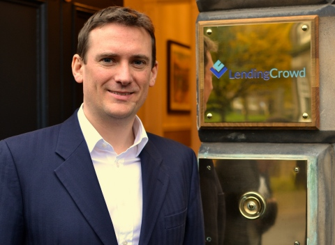 Stuart Lunn, CEO and co-founder, LendingCrowd (Photo: Business Wire)