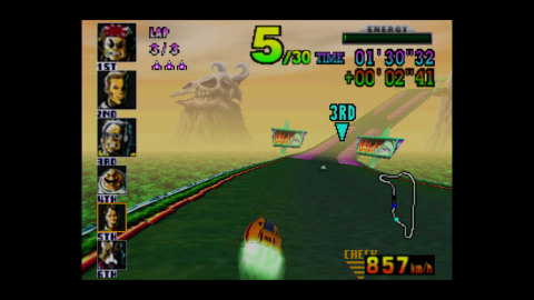 With five separate play modes, hidden vehicles and courses, and an excellent soundtrack, F-Zero X is ...