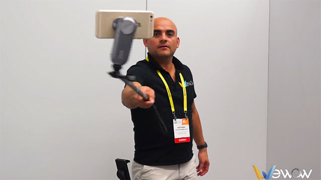 Product demonstration at CES 2017