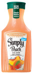 Simply Peach is available in a multi-serve 59 fl oz package (Photo: Business Wire)