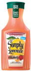 Simply Lemonade with Strawberry is available nationwide in the 59 fl oz signature carafe (Photo: Business Wire)