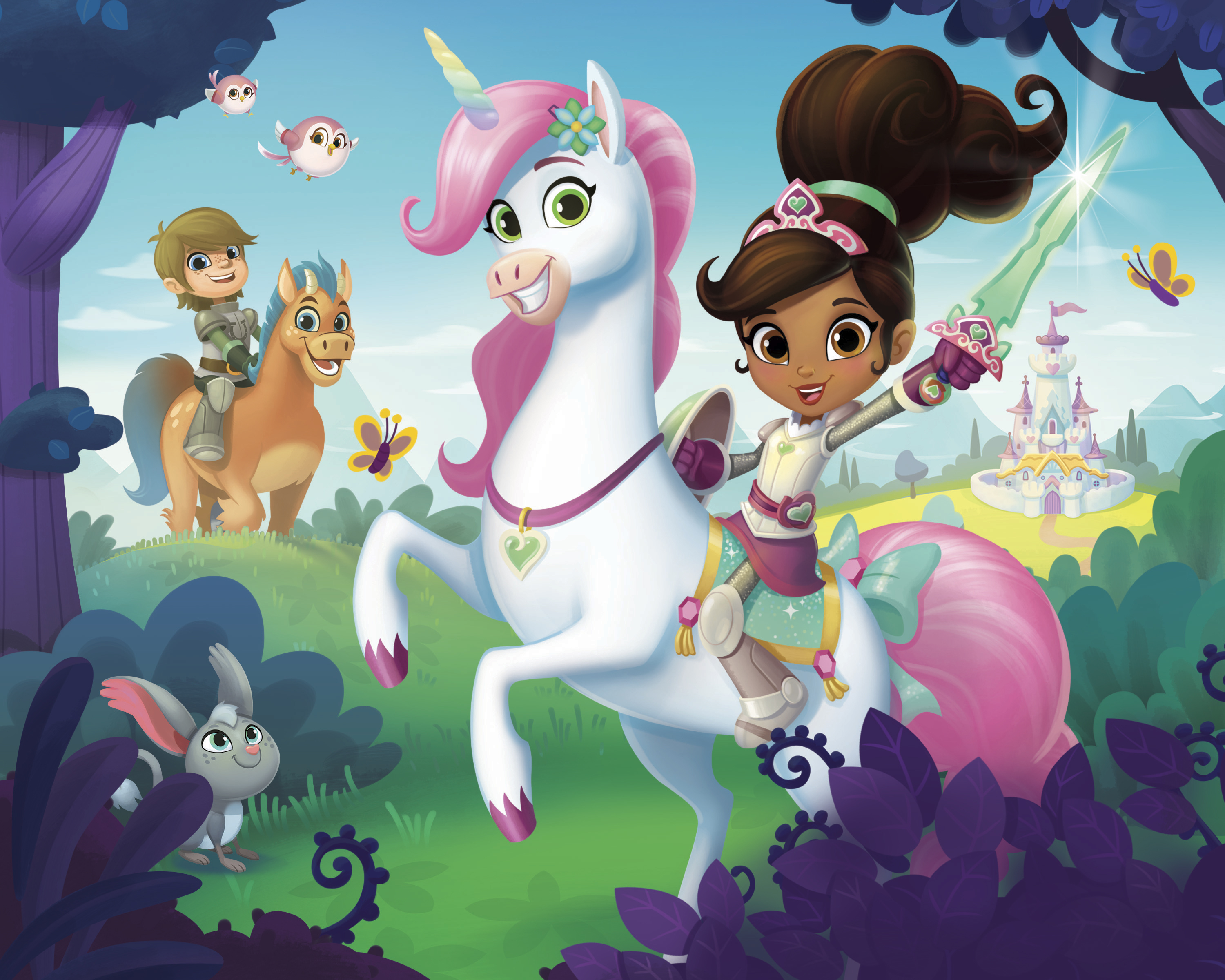 Nickelodeon Invites Preschoolers Along For Thrilling Adventures With An Unconventional Princess In Nella The Knight Brand New Animated Series