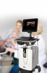 FUJIFILM VisualSonics Inc., a world leader in high-frequency ultrasound imaging systems and subsidiary of FUJIFILM SonoSite, Inc., today announced clearance from Health Canada for its Vevo® MD, the world's first Ultra High-Frequency (UHF) clinical ultrasound system. (Photo: Business Wire)