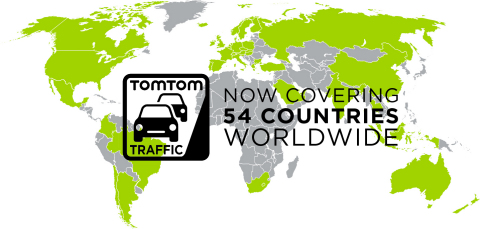 TomTom Traffic Increases Its Global Footprint to 54 Countries Adding Argentina and Colombia (Photo:  ...