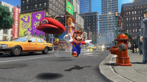 Super Mario Odyssey is the first sandbox game that allows Mario to fully explore his world since Super Mario 64 on Nintendo 64 and Super Mario Sunshine on Nintendo GameCube. (Graphic: Business Wire)