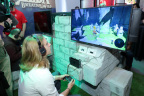 NEW YORK - JAN 13: In this photo provided by Nintendo of America, a guest enjoys playing The Legend of Zelda: Breath of the Wild on the groundbreaking new Nintendo Switch video game system at a special preview event in New York on Jan. 13, 2017. Launching March 3, 2017, Nintendo Switch combines the power of a home console with the mobility of a handheld. It's a new era in gaming that delivers entirely new ways to play wherever and whenever people want. (Photo by Neilson Barnard/Getty Images for Nintendo of America)