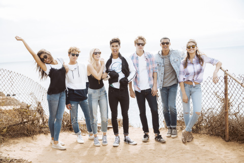 Hollister's Advanced Stretch Jeans with COOLMAX® ALL SEASON technology for year-round comfort (Photo: Business Wire)