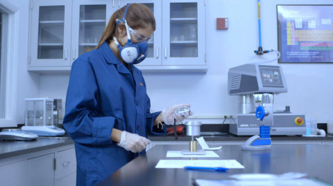 Sintavia's materials characterization lab uses a wide range of equipment and procedures to perform microscopy, CT scanning, surface analysis, optical spectroscopy, and chemical analysis. (Photo: Business Wire)