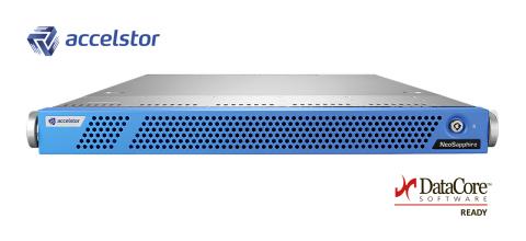 AccelStor Fibre Channel array: NeoSapphire 3611 (Photo: Business Wire)
