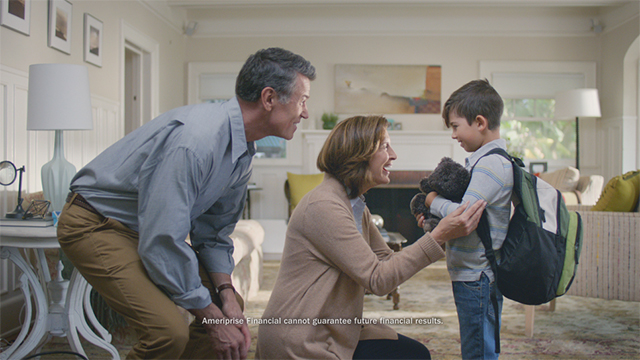 Ameriprise Financial debuts new ads showcasing the benefit of working with an Ameriprise advisor.