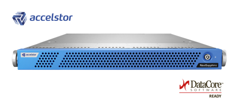 AccelStor Fibre Channel array: NeoSapphire 3611 (Photo: Business Wire)