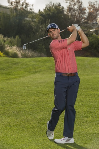 Skechers Performance elite athlete, Wesley Bryan, wearing the Skechers GO GOLF Focus™. (Photo: Business Wire)
