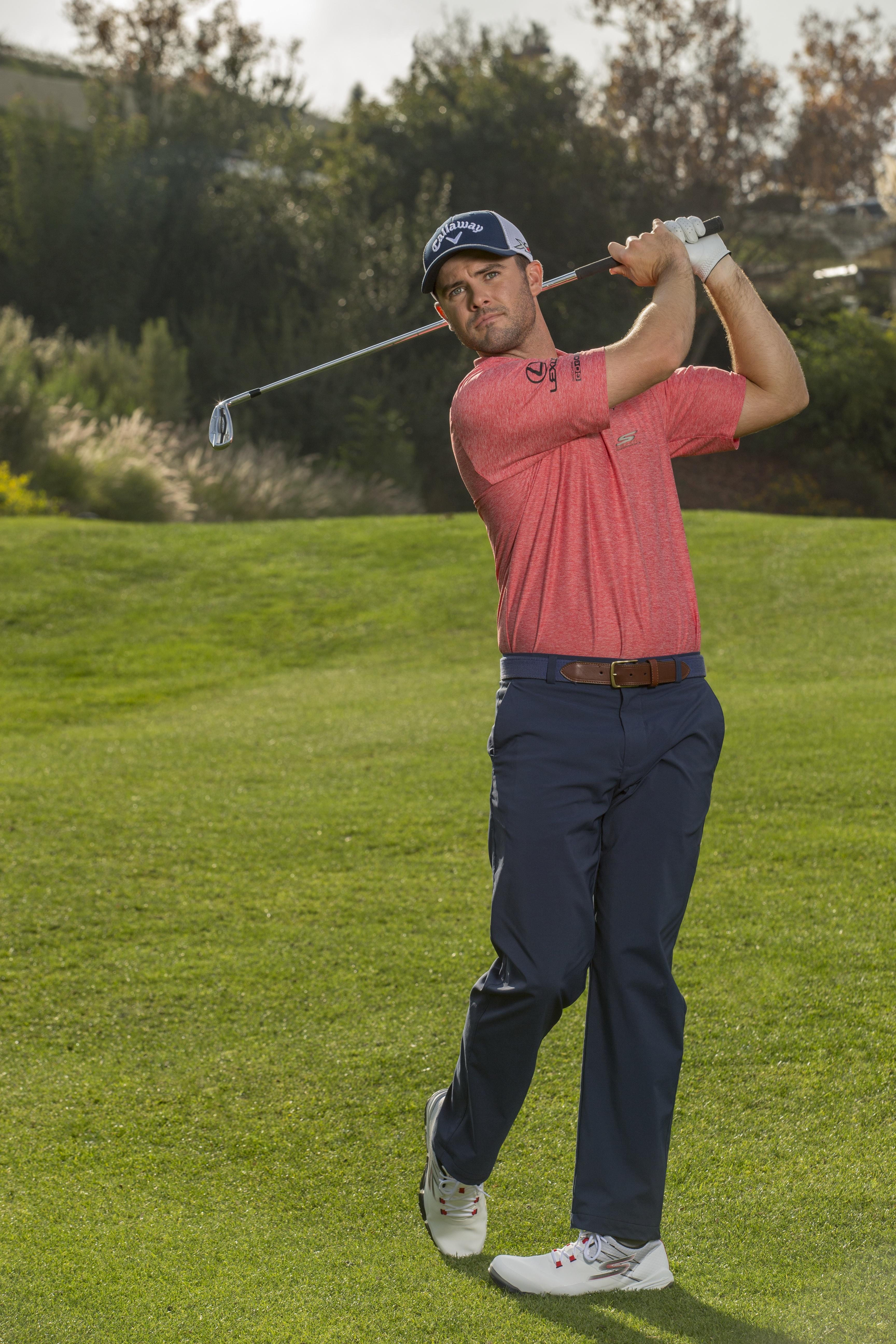 skechers performance men's go golf pro golf shoe