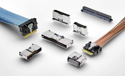 TE Connectivity's Sliver internal cabled interconnects provide one of the most flexible solutions for making internal input/output (I/O) connections on the board. (Photo: Business Wire)