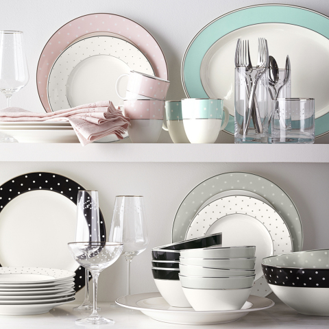 Williams Sonoma debuts dinnerware collaboration with iconic lifestyle brand kate spade new york (Pho ...