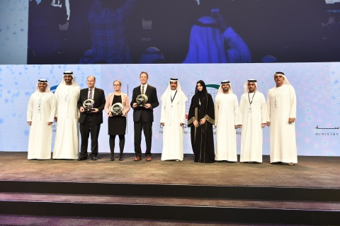 The 2nd Cycle Awardees of the UAE Research Program for Rain Enhancement Science (Photo: ME NewsWire)