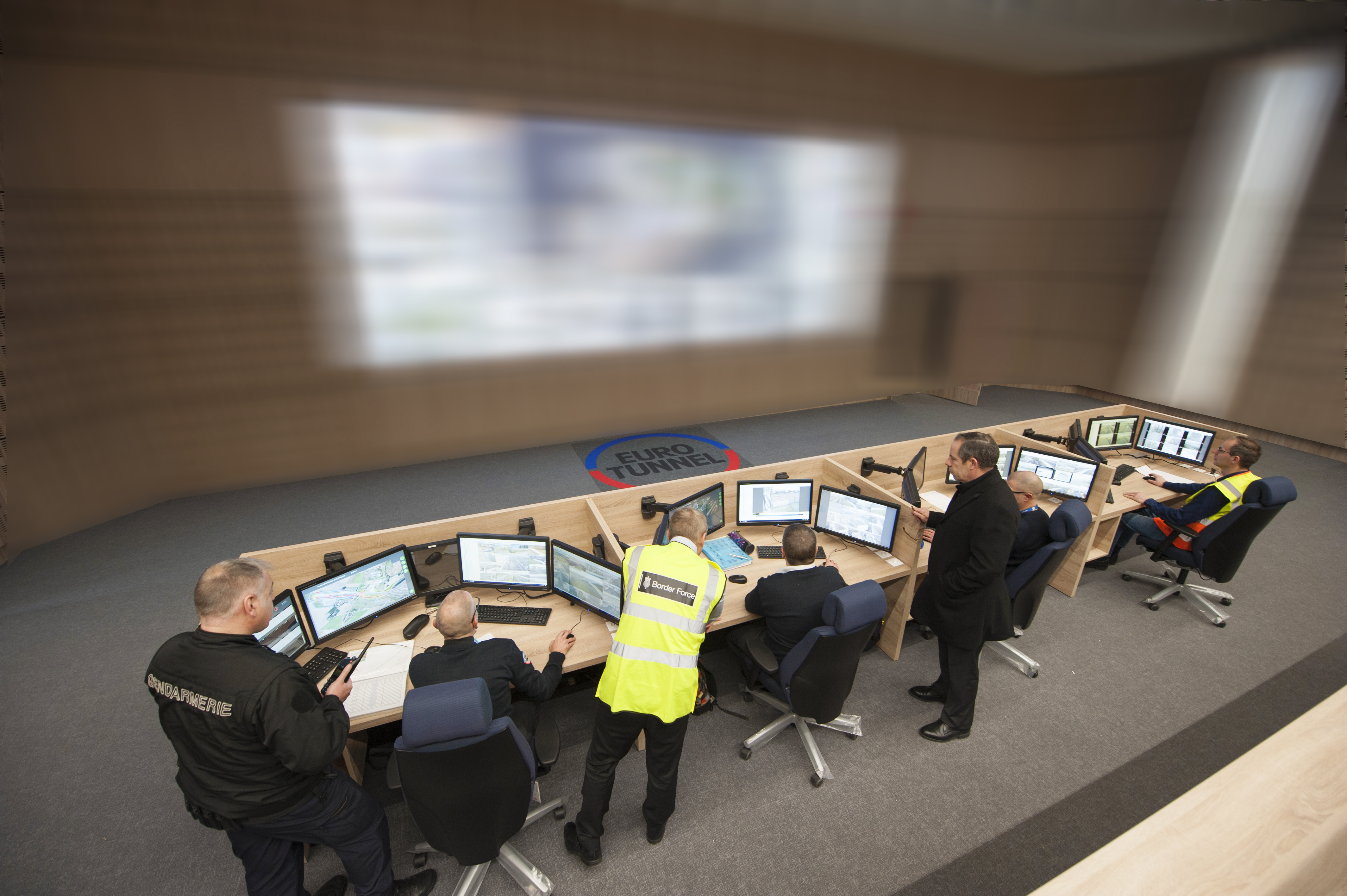 New Security Control Centre For Eurotunnel Business Wire