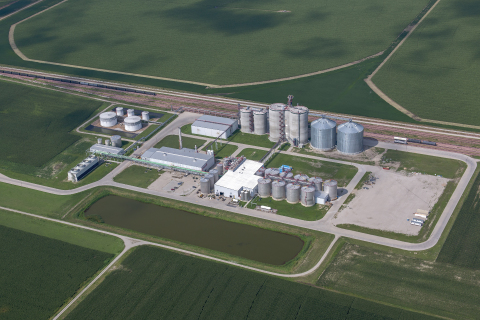 The Flint Hills Resources Fairmont plant buys 42 million bushels of corn annually to produce 120 mil ...