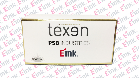 E Ink's technology brings customizability to TEXEN packaging displays for makeup compacts, perfume b ...